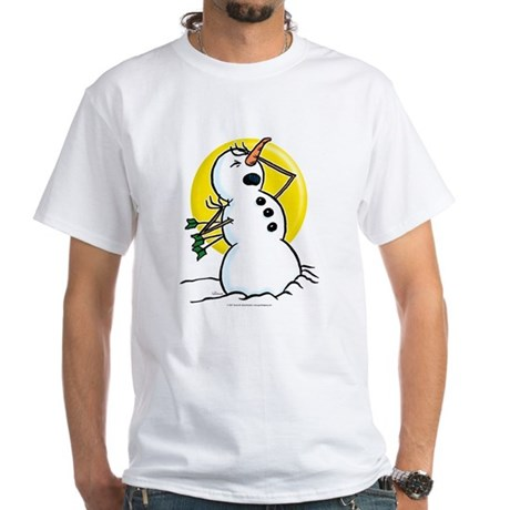 Snowmen White T-Shirt