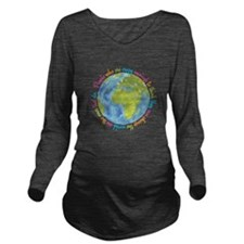 Change the world Long Sleeve Maternity T-Shirt