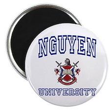 "NGUYEN University 2.25"" Magnet (10 pack)"