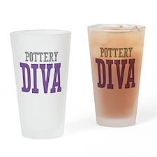Pottery DIVA Drinking Glass
