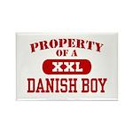 Property of a Danish Boy Rectangle Magnet