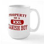 Property of a Danish Boy Large Mug