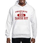 Property of a Danish Boy Hooded Sweatshirt