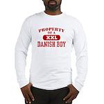 Property of a Danish Boy Long Sleeve T-Shirt