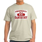Property of a Danish Boy Ash Grey T-Shirt