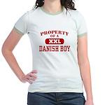 Property of a Danish Boy Jr. Ringer T-Shirt