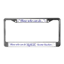 Can Do Magic License Plate Frame