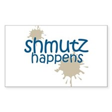 shmutz happens Rectangle Decal