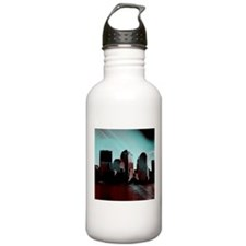 new york, aqua effect Water Bottle
