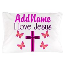 I LOVE JESUS Pillow Case