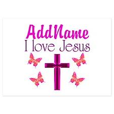 I LOVE JESUS Invitations