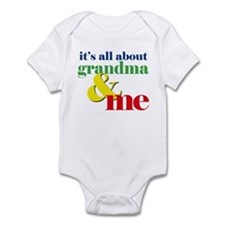 all about grandma and me Infant Bodysuit