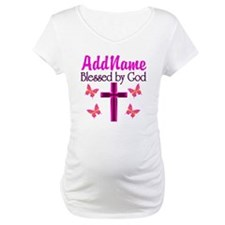 BLESSED BY GOD Shirt