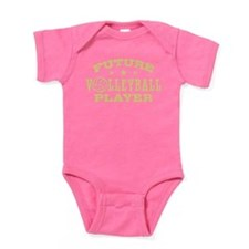 Future Volleyball Player Baby Bodysuit