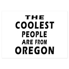 The Coolest People Are From Oregon Invitations