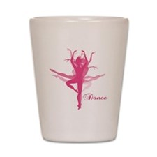 Ballet Dancer Shot Glass