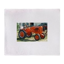 Allis Chalmers Tractor.png Throw Blanket