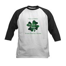 Green Plaid Scotch Irish Shamrock Baseball Jersey