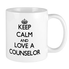 Keep Calm and Love a Counselor Mugs