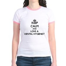 Keep Calm and Love a Dental Hygienist T-Shirt