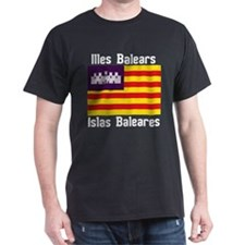 Balearic Islands Dark F+B T-Shirt