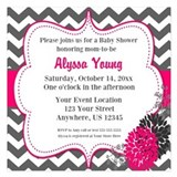 Baby shower invitation 5.25 x 5.25 Flat Cards