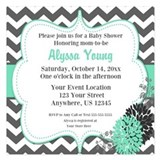 Bridal shower invitations 5.25 x 5.25 Flat Cards