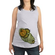 Swaddled Pumpkin Maternity Tank Top