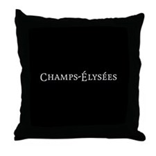 Champs-Élysées Throw Pillow