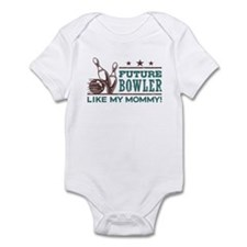 Future Bowler Like My Mommy Infant Bodysuit