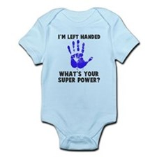 Left Handed Super Power Infant Bodysuit