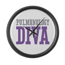 Pulmonology DIVA Large Wall Clock
