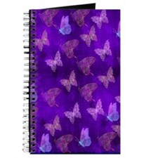 Purple Butterflies Journal