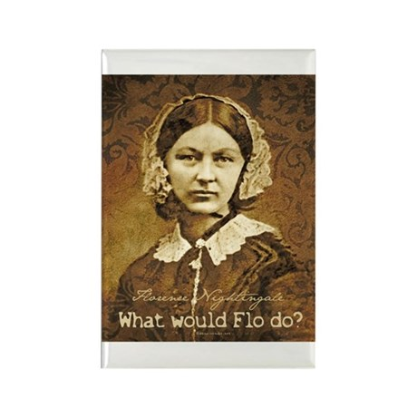 Flo do? Florence Nightingale Rectangle Magnet