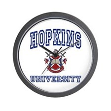 HOPKINS University Wall Clock