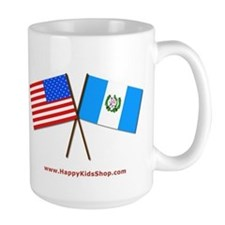 Mug - US and Guatemala flags