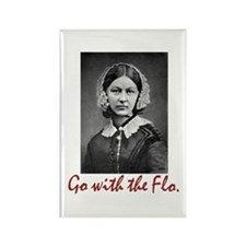 Go with Florence Nighti Rectangle Magnet (10 pack)