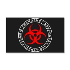 Zombie Emergency Car Magnet 20 In. X 12 In.