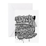 DIRTY SOUTH Greeting Cards (Pk of 10)