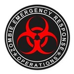Zombie Emergency Response Operations Round Car Mag