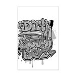 DIRTY SOUTH Mini Poster Print