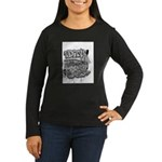 DIRTY SOUTH Women's Long Sleeve Dark T-Shirt
