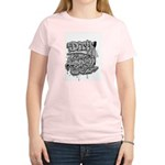 DIRTY SOUTH Women's Pink T-Shirt