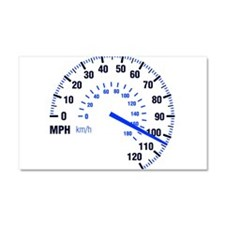 Racing - Speeding - MPH Car Magnet 20 x 12