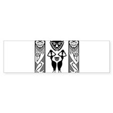 African Art - Tribal Bumper Bumper Sticker