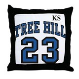 Cool Haley james scott Throw Pillow