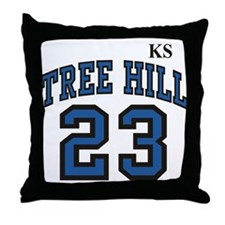 Raven one tree hill Throw Pillow