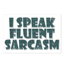 I Speak Fluent Sarcasm Postcards (Package of 8)