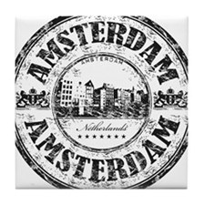 Amsterdam Seal Tile Coaster