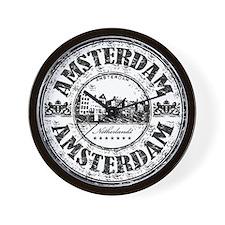 Amsterdam Seal Wall Clock